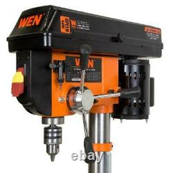 10 Inch Drill Press Laser Guide Cast Iron WEN 5 Speeds Heavy Duty Variable Tool