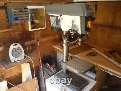 A Little Used Engineers Heavy Duty Pillar Drill ED16B2 by Axminster Power Tools