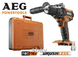 AEG 18v Brushless Cordless Hammer Drill BSB18CB Brand New with Kit Box