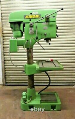 Alzmetall Pillar Drill, Heavy Duty, Variable speed