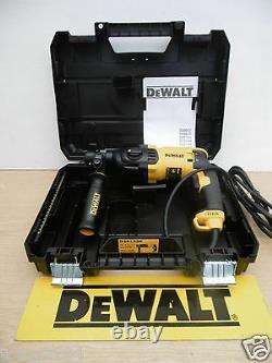 BRAND NEW DEWALT D25133K 3 MODE 800W 2.6 JOULE SDS HAMMER DRILL 110v
