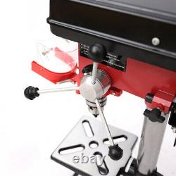 Bench 9Speed Pillar Drill Press Stand 16mm Chuck Gauge 500W Top Mounted Drilling