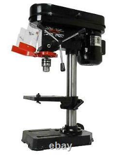 Bench Drill Press New Heavy Duty 500W 16Mm Rotary Pillar 9 Speed Press Drilling
