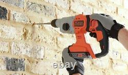 Black + Decker Power Connect SDS+ Hammer Drill 18V