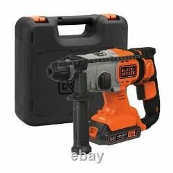 Black & Decker SDS Hammer Drill 18v 1 x 2.0ah battery