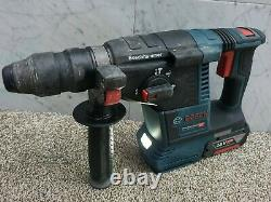 Bosch 18v brushless sds three mode hammer drill +6ah battery GBH 18V-26