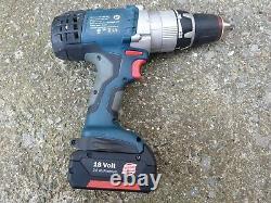 Bosch GSB 18 VE-2 LI drill + 18v 2.6Ah Battery robust heavy duty combi hammer
