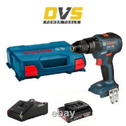 Bosch GSB 18V-55 Brushless Cordless 18V Combi Drill, Charger, 2Ah Battery & Box