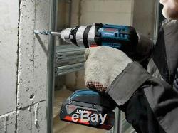 Bosch GSB18VE2-LI 18v Robust Combi Hammer Drill 1 x 5.0ah Battery Charger LBOXX