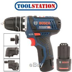Bosch GSR 12V-15 FC 12V Li-Ion FlexiClick Drill Driver 2 x 2.0Ah