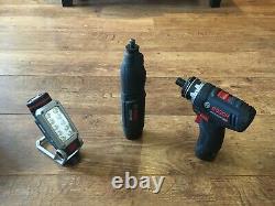 Bosch GSR 12V-15FC FlexiClick Drill Driver Super Bundle