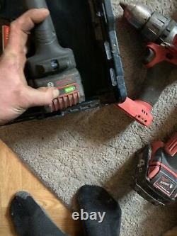 Bosch GST 18 V-LI B Professional Cordless Jigsaw And Heavy Duty Drill X2 Batt