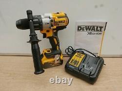 Brand New Dewalt Dcd996p1 18v Xr 3 Speed Combi Hammer Drill 1 X 5 Ah + Tstak