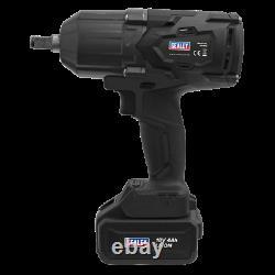 CP1812 Sealey Cordless Impact Wrench 18V 4Ah Li-ion 1/2 Sq Drive Brushless