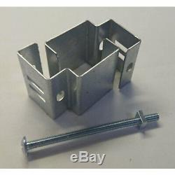 Concrete Fence Post Brackets For Hanging Anything No Drill Heavy Duty All Sizes