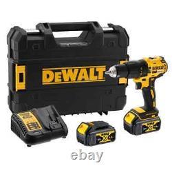 DEWALT 18V XR Li-Ion BRUSHLESS Compact Drill Driver Kit -1.5Ah + Free Shipping