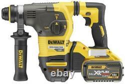 DEWALT 54V XR FlexVolt Li-Ion SDS-Plus Cordless Hammer Drill DCH333X2-GB