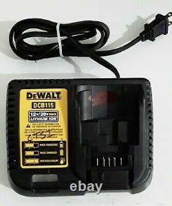 DEWALT DCD996B 20V 20 Volt Lithium Ion Brushless 1/2 Hammer Drill complete Set