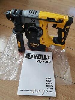 DEWALT DCH273N 18V XR Li-Ion SDS+ Plus Rotary Hammer Drill + 5.0ah Dewalt XR bat