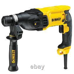 DeWALT 3-Mode 800w 2.6J SDS Plus/SDS+ Hammer Combi Chisler Drill 110v D25133K