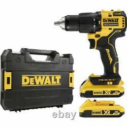 DeWalt DCD709D2T 18V XR Brushless Compact Combi Drill Driver 2 x 2.0Ah NEW