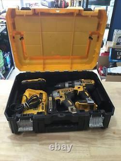 DeWalt DCD996 1/2 Cordless Hammer-Drill/DCF887 1/4 Cordless Impact Driver Set