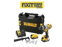 DeWalt DCD996P2 DCD996 18V Brushless Combi Hammer Drill 2X 5.0AH BATTS RW