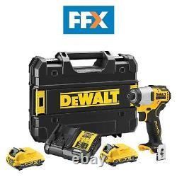 DeWalt DCF801D2-GB 12V 2 x 2Ah XR Brushless Sub Compact Impact Driver