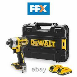 DeWalt DCF887D2-GB 18V 2x2.0Ah Li-ion Brushless 3 Speed Impact Driver