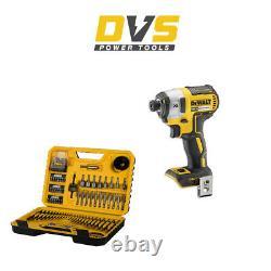 DeWalt DCF887N Cordless 18V XR Brushless Impact Driver Body Only & Drill Bits