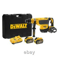DeWalt DCH733X2-GB 54V XR FlexVolt SDS Max Rotary Hammer Drill 2 x 9.0Ah