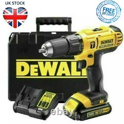 DeWalt XR 18V Battery Battery Cordless Combi Drill 2 Variable Speeds With Case