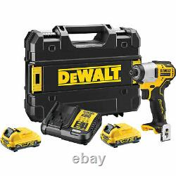 Dewalt DCF801D2 12v XR Cordless Brushless Compact Impact Driver 2 x 2ah Li-ion