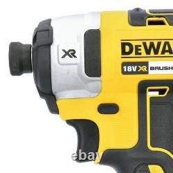 Dewalt DCF887N 18V Brushless Impact Driver With DCD796N Combi Drill Twin Pack