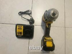 Dewalt DCF899 18v li-ion brushless heavy duty impact wrench, battery and charger