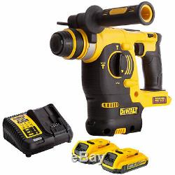 Dewalt DCH253N 18V SDS+ Rotary Hammer Drill with 2 x 2.0Ah Batteries & Charger