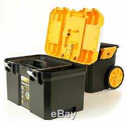 Dewalt DCH273 18V Brushless SDS+ Drill + 19 Heavy Duty Rolling Storage Toolbox