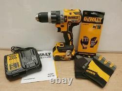 Dewalt Xr 18v Dcd796p1 Hammer Drill 1 X 5 Ah + Tstak + Free Dpg213l Gloves