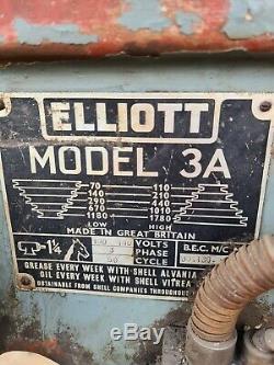 Elliott MODEL 3A Heavy Duty Pillar Pedestal Drill Includes VAT