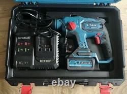 Erbauer 18v Brushless sds three mode hammer drill +4ah battery, charger and Case