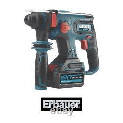 Erbauer ERH18-Li 4Ah Li-Ion SDS Plus Hammer Drill 3-Functions Variable Speed