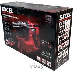 Excel EXL554B 18V Cordless SDS+ Rotary Hammer Drill 1 x 5.0Ah Battery & Charger