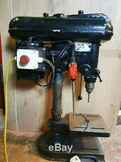 Fobco Star 1/2 Cap Pillar Drill 240v 4 Speeds Heavy duty Bench Drill
