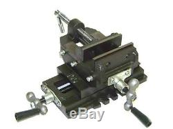 Heavy Duty 6 Cross Drill Press Vise Slide Metal Milling 2 Way Clamp Vice