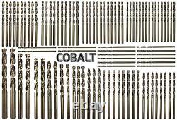 Heavy Duty 99pc Cobalt Drill Bit Set M35 Metal HSS-Co for Stainless Steel
