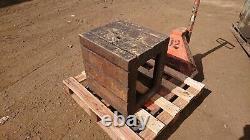 Heavy Duty ShapingTable/Pillar Drill Table/Bench T slotted cast iron box