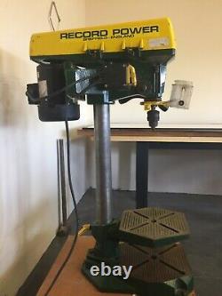 Heavy duty bench pillar drill with 30 column
