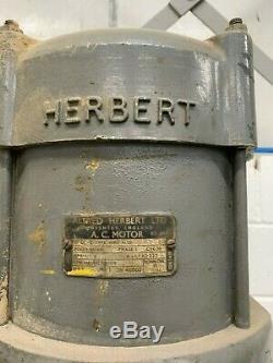 Herbert Heavy Duty V Turret Drill