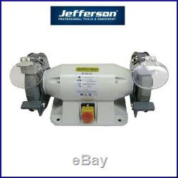 Jefferson 8 Heavy Duty Bench Grinder (800w) With Pre-drilled Holes