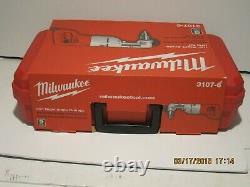 MILWAUKEE 3107-6 7 Amp 1/2 Corded Heavy Right-Angle Drill Kit-FREE SHIP NISB